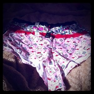 Hello Kitty cheeky panties size 3